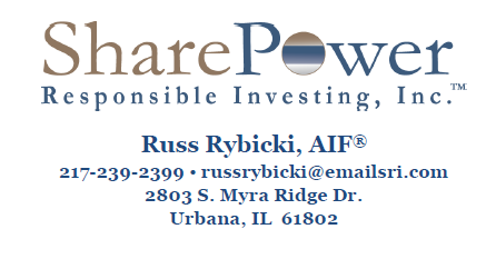 Russ Rybicki, AIF - SharePower Responsible Investing, Inc.